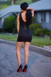 Loaded Dress - Black Angle 2