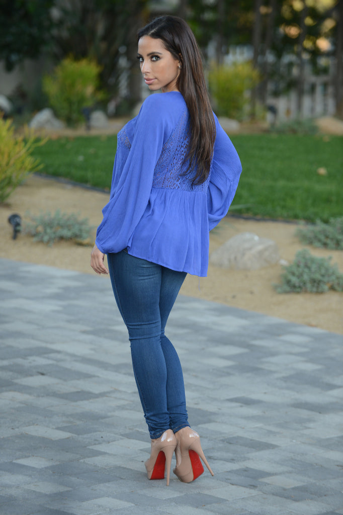 Kendall Top - Blue