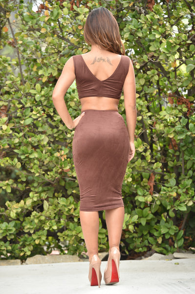 Indigenous Skirt - Brown