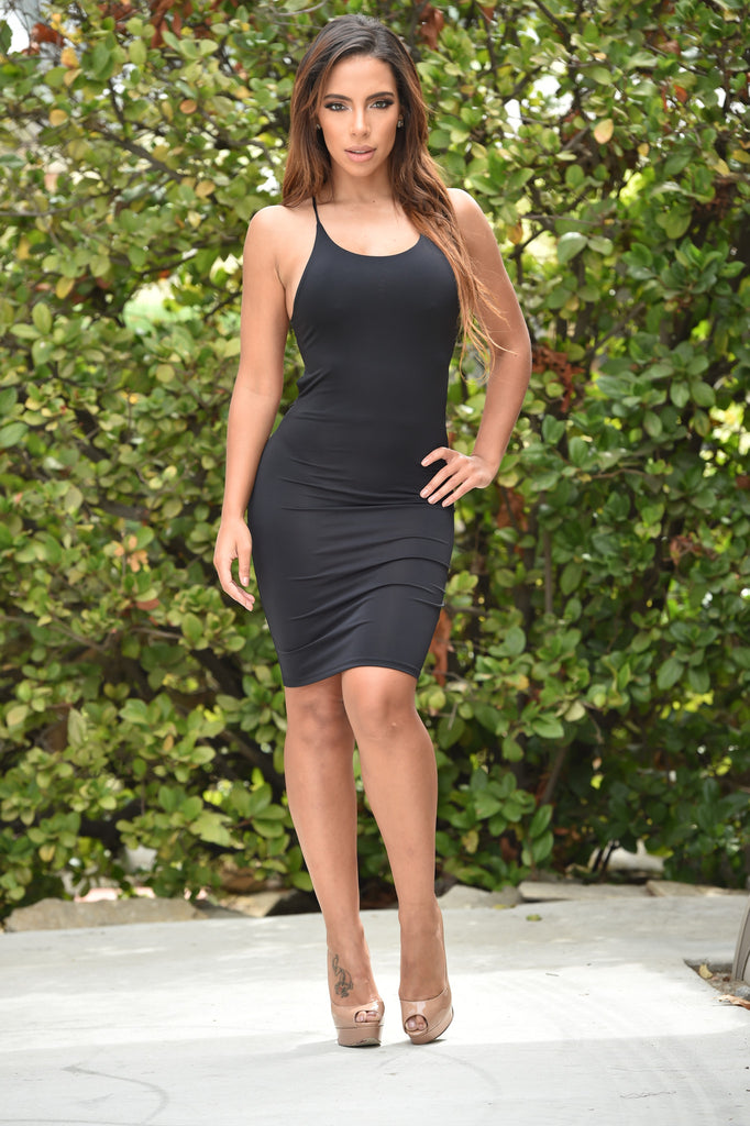 Glamore Us Dress - Black