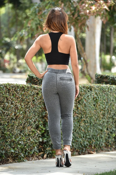 Work Out Gear Pants - Grey