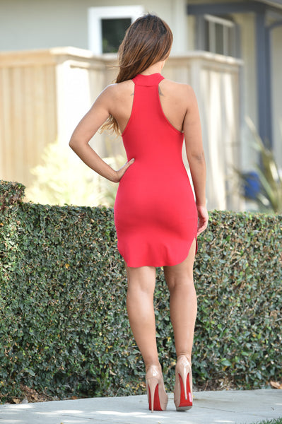 Kenzie Dress - Red