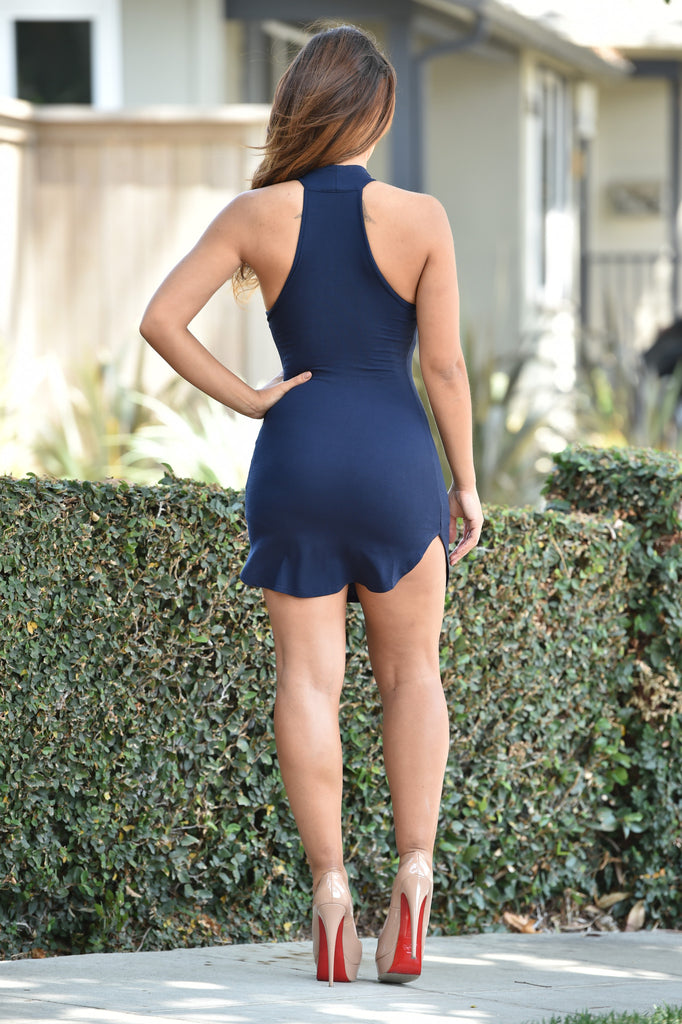 Kenzie Dress - Navy