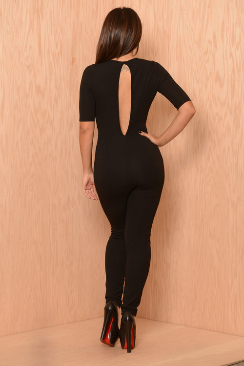 Whitney Jumpsuit - Black