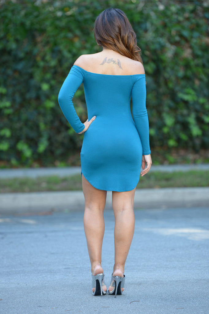 Catalea Dress - Teal
