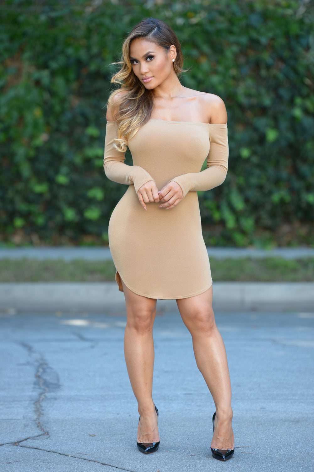 Catalea Dress - Camel