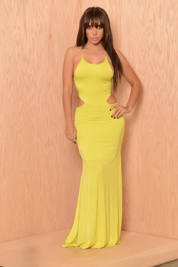 Fifth Position Dress - Lime
