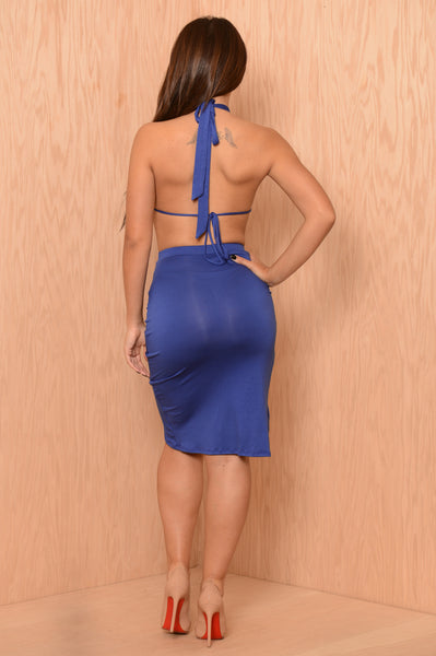 Lydia Dress - Royal