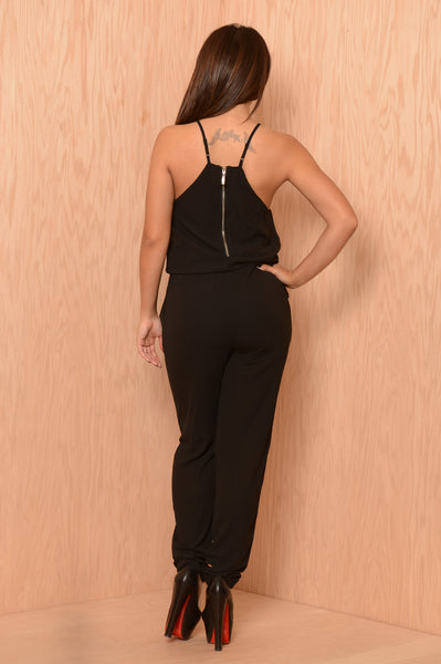 Diana's Moment Jumpsuit - Black