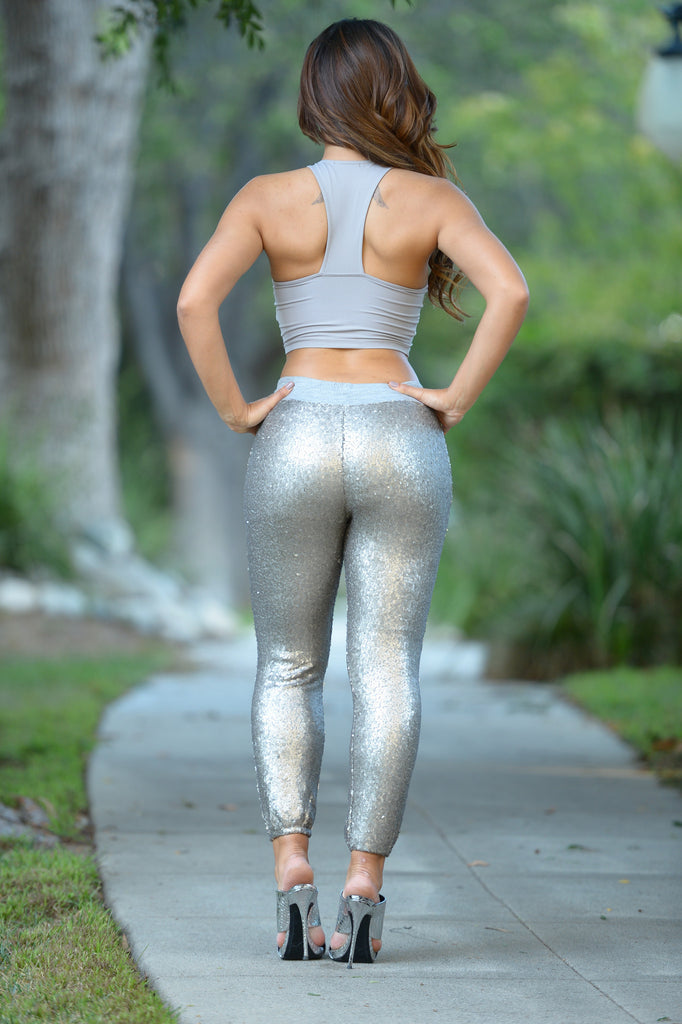 Arabian Nights Jogger - Silver