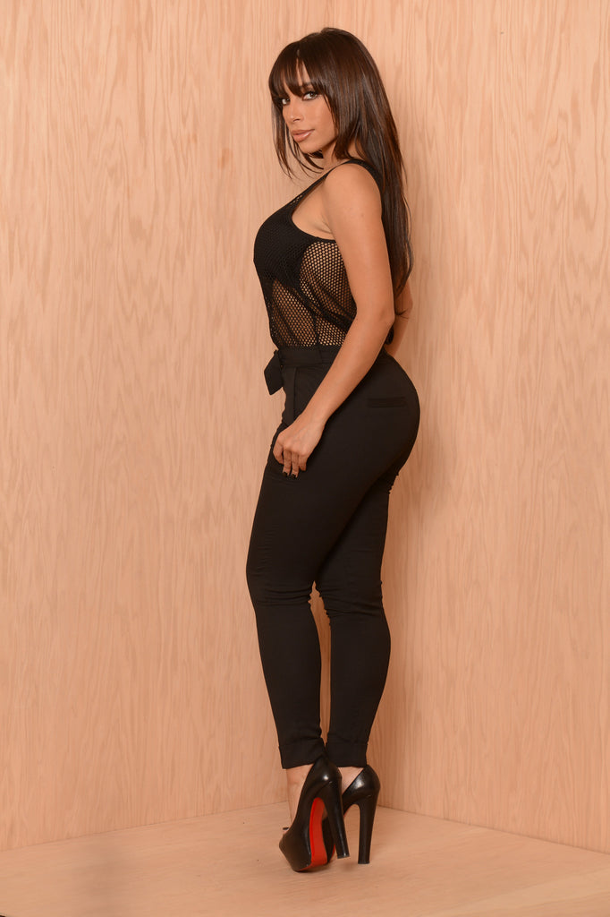 Net Sales Jumpsuit - Black