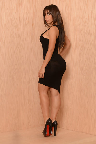 Rumors Dress - Black