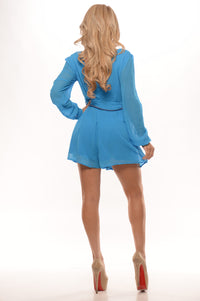 Chic Romper - Blue