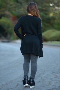 Madison Cardigan - Black