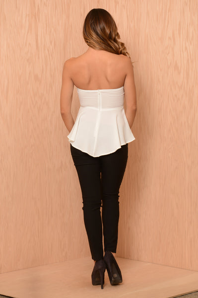 Candie Top - Ivory