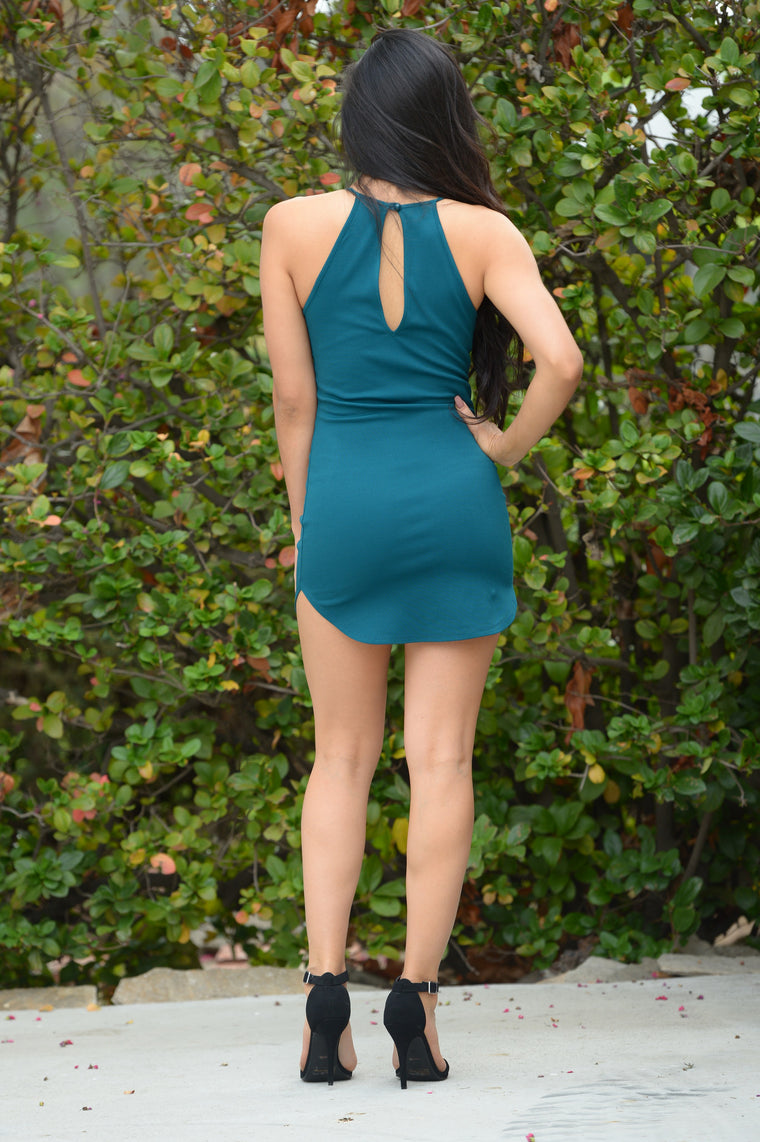 Valley Girl Dress - Teal