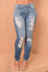 Washed Ashore Jeans - Denim