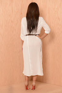 Sophisticated Fun Tunic - White Angle 2