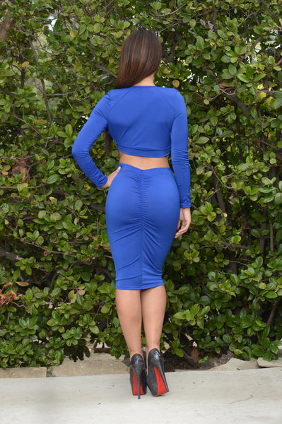 Carmela Skirt - Royal