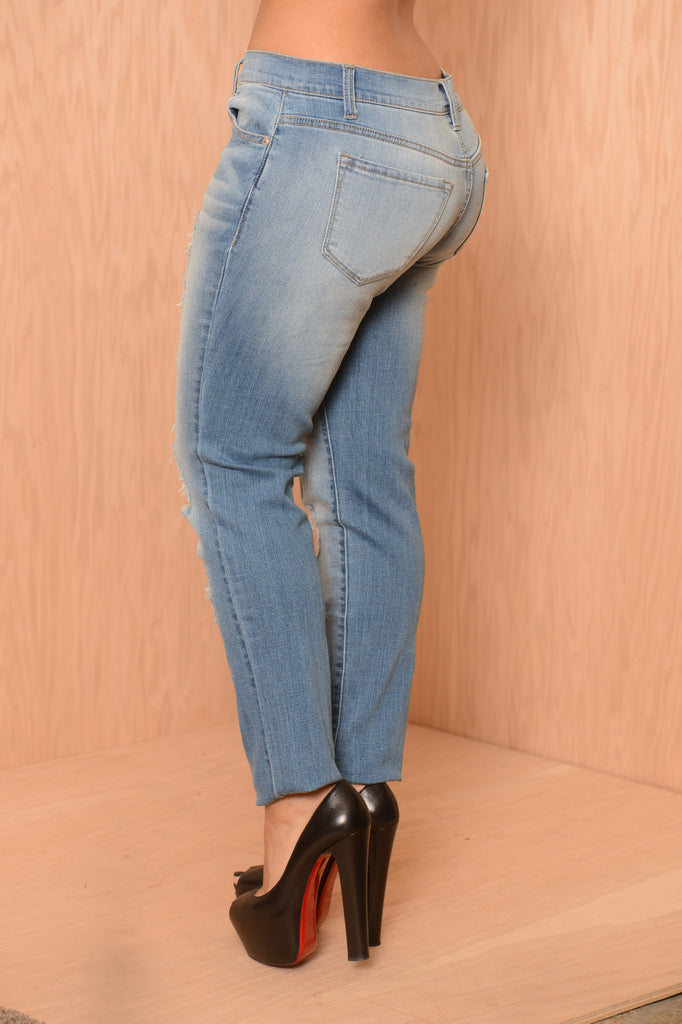 Chad Boyfriend Jeans - Light