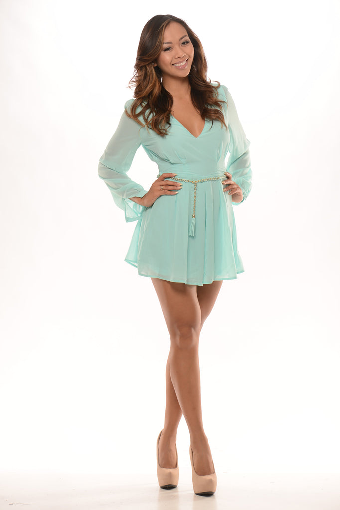 Chic Romper - Mint