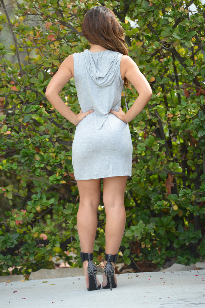 Like Mike Tunic - Heather Grey