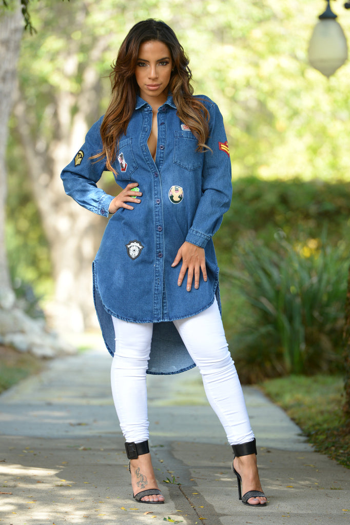 Route 66 Tunic - Denim