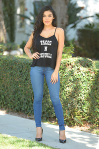 Taco Tuesday Top - Black