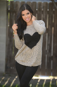 Warm and Fuzzy Love Sweater Angle 4