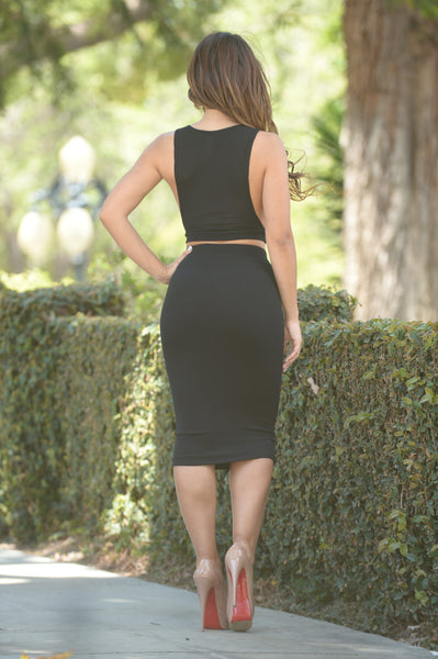 Selene Skirt - Black