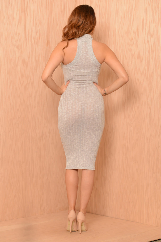 Tess Dress - Light Grey