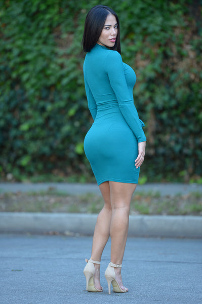 Delight Dress - Teal