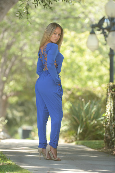 Captivating Jumpsuit - Royal