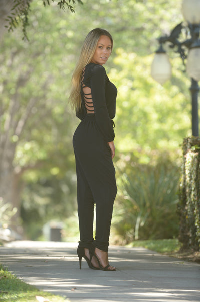 Captivating Jumpsuit - Black
