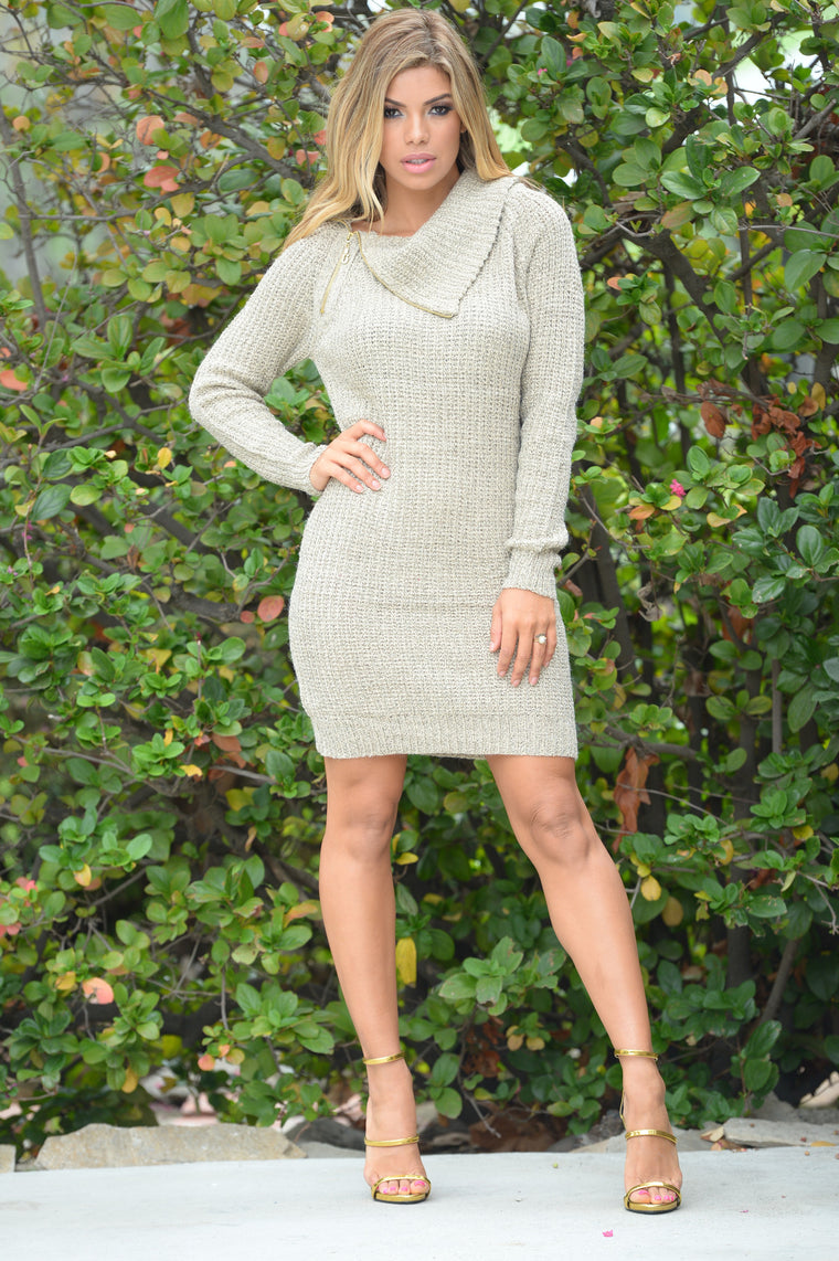 America's Sweetheart Dress - Taupe