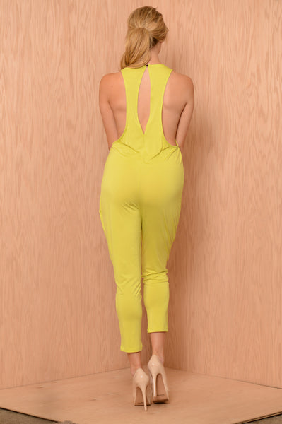 Sightseeing Jumpsuit - Lime