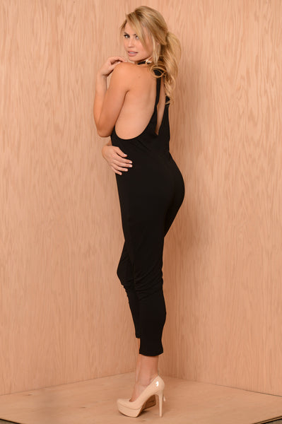Sightseeing Jumpsuit - Black