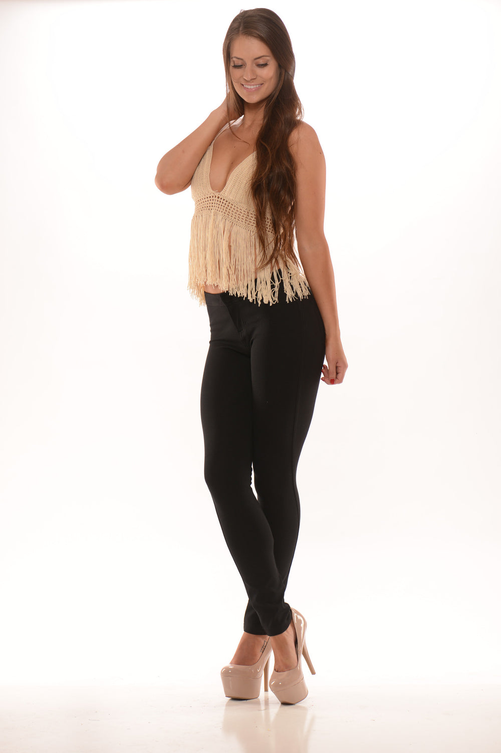 Midrise Pants - Black