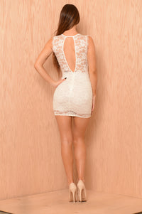 With You Dress - Ivory