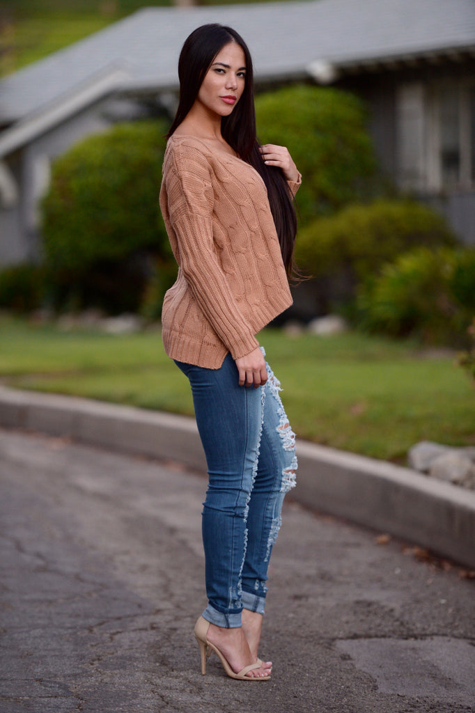 Girl Meets World Sweater - Copper