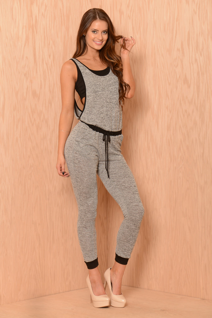 Playtime Jumpsuit - Grey