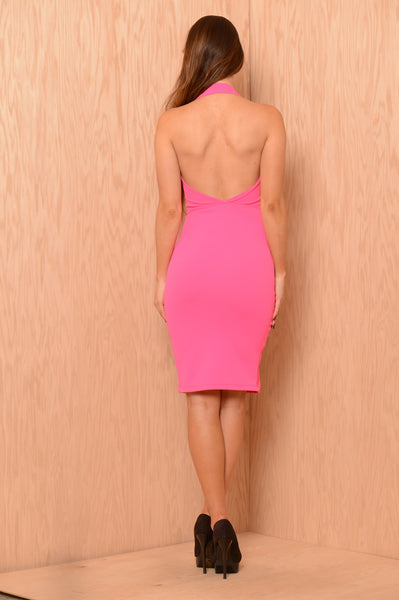 Chardonnay Dress - Fuchsia