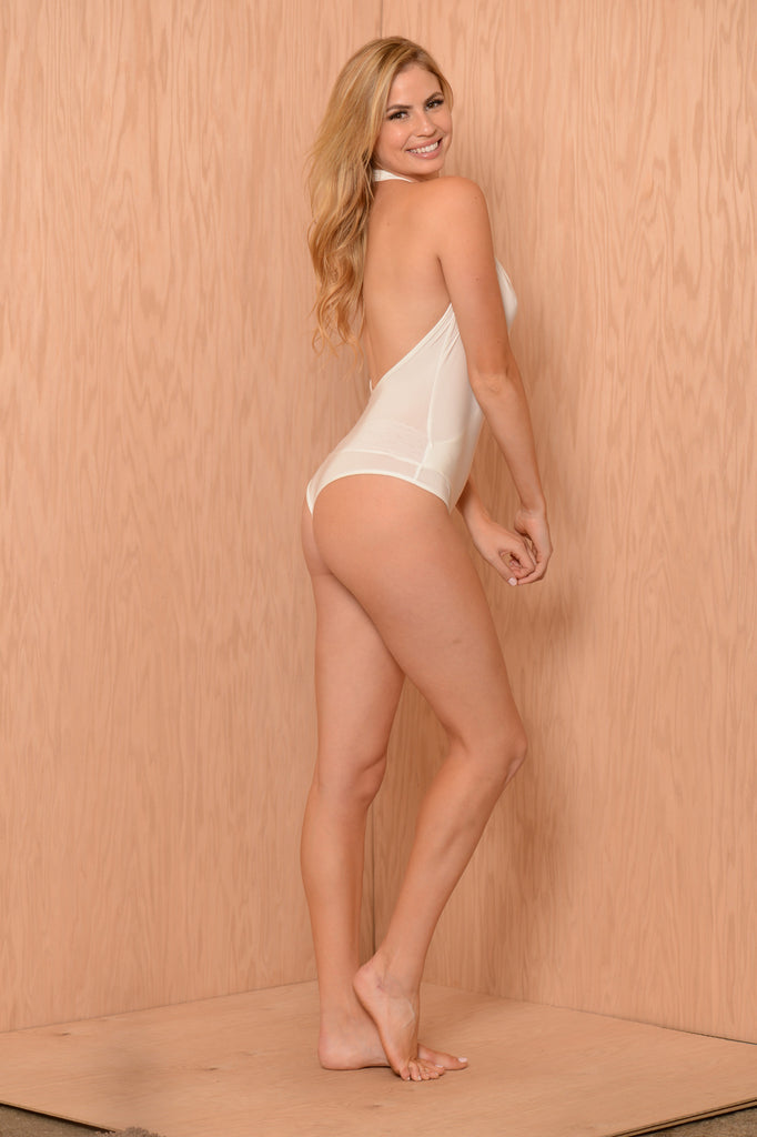 Show Stopper Bodysuit - White