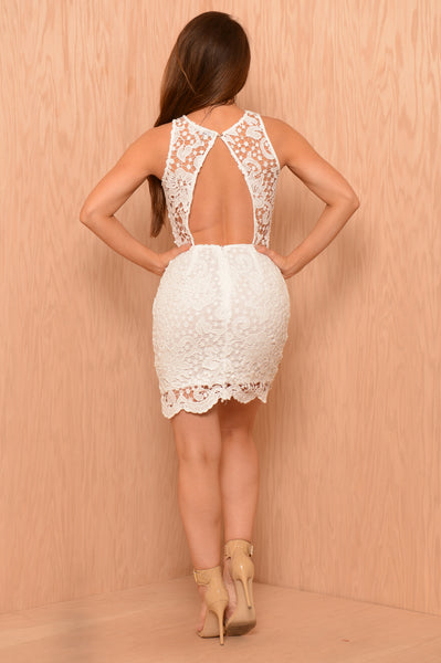 Debutante Dress - White
