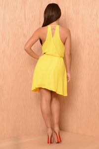 Jackie Dress - Yellow