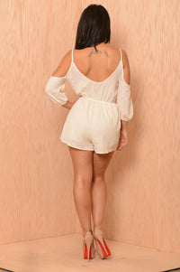 Once Upon a Time Romper - Ivory
