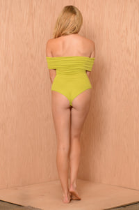 Kelly Bodysuit - Lime