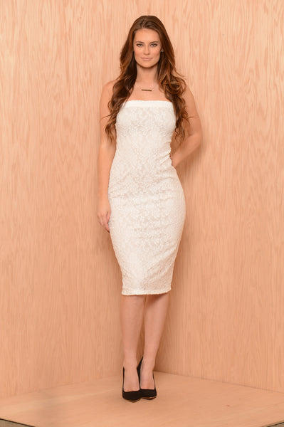 Coleen Dress - Off White