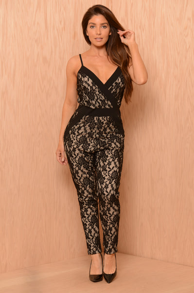 Lace for Days Jumpsuit