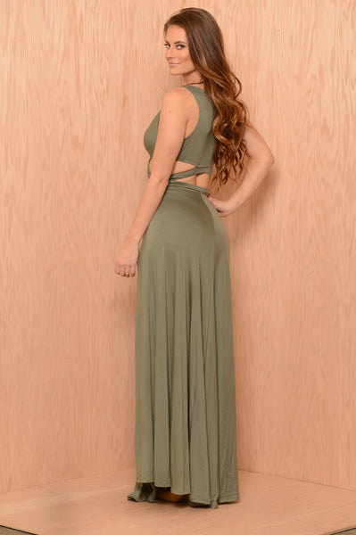 Kendra Dress - Olive